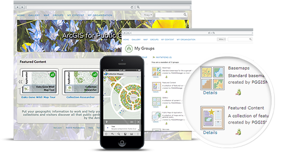ArcGIS Online for Public Gardens